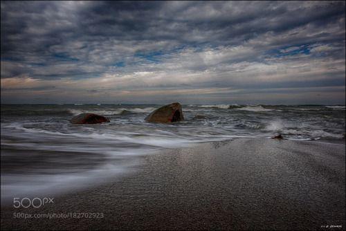 -  s i l e n c e  - by Stefan_Schnese  Glowe Beach Deutschland Strand Rügen Stones Steine Ostsee Insel Stefan_Schnese