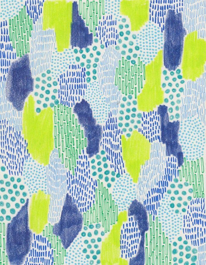 Glass & Bones   Subconscious Patterns inspiration Alice Alva