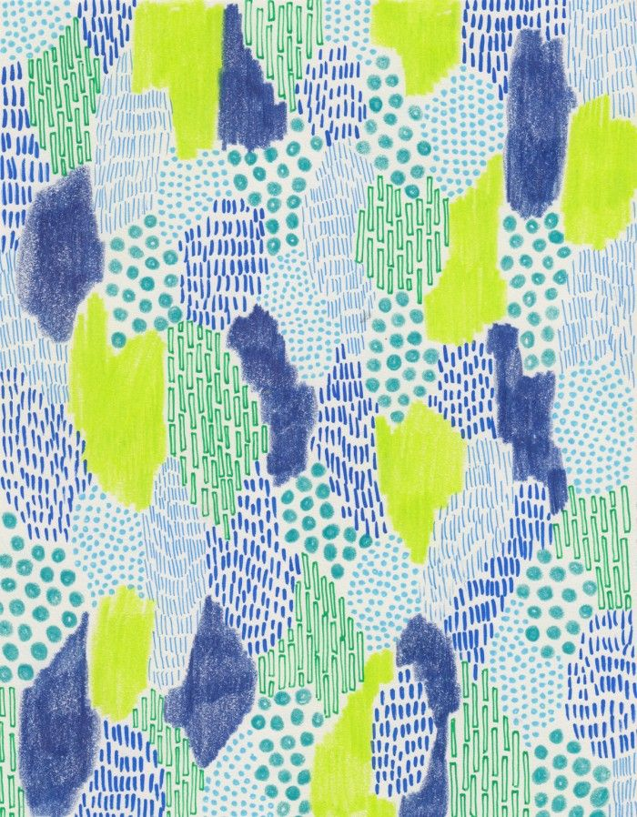 Glass & Bones Subconscious Patterns inspiration