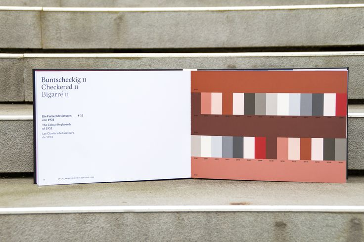 "Le Corbusier´s colour atmosphere ""Checkered II""."