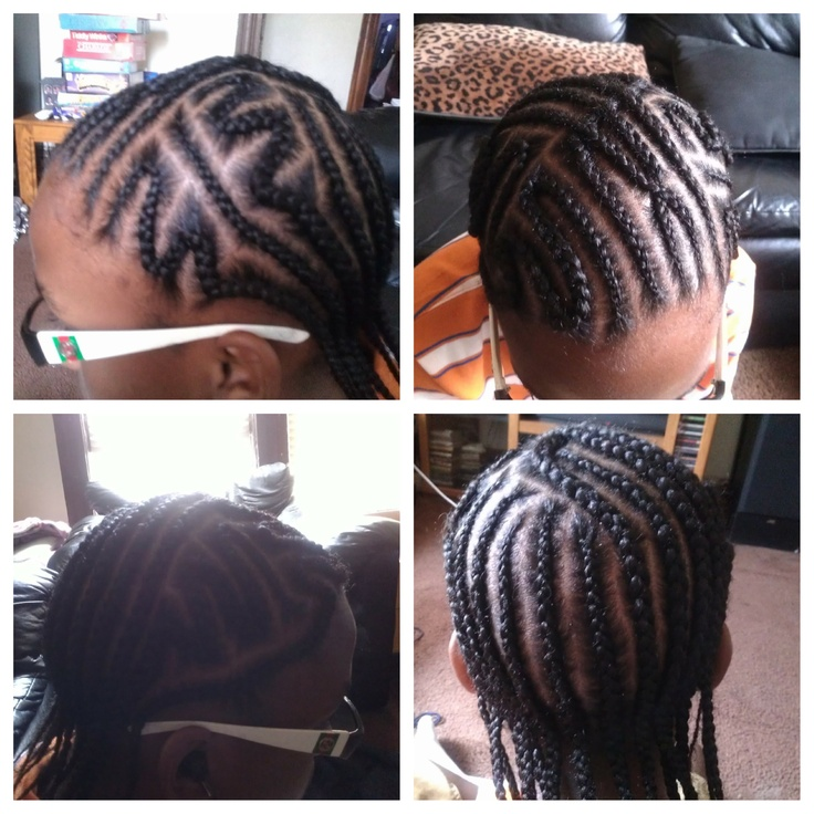 Groovy 1000 Images About Boys Hair Styles On Pinterest Boy Braids Short Hairstyles For Black Women Fulllsitofus
