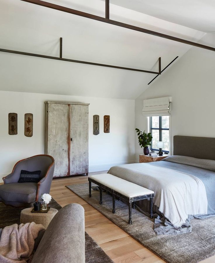 A beautiful bedroom designed by Clements Design