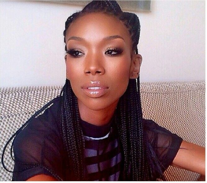 brandy braids beauty celebrity brandy pinterest