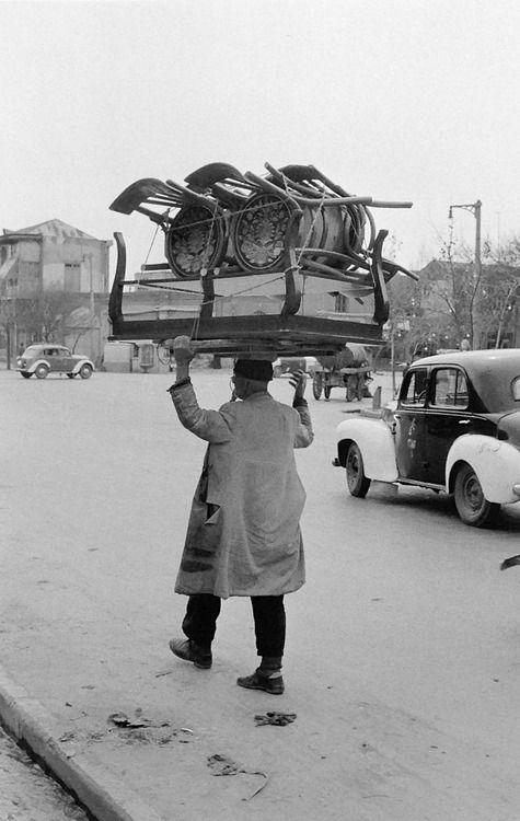 Near te bazaar Teheran Iran 1958 - Photo: Inge Morath
