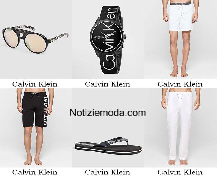 Boardshorts Calvin Klein primavera estate 2016 costumi uomo