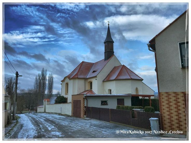 #nezdice #obec #village #prestice #cesko #czechia #visitCzechia #vylet #cestovani #travel #trip #turistika #explore #heritage #hiking #2017 #church #kostel #zima #winter