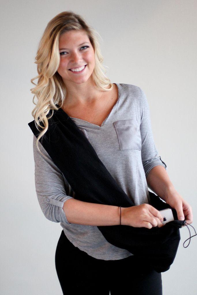 ORIGINAL | Black Clutch Wrap™ purse