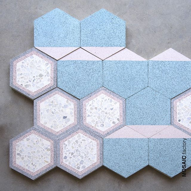 The three finishes of Cement tiles First standard