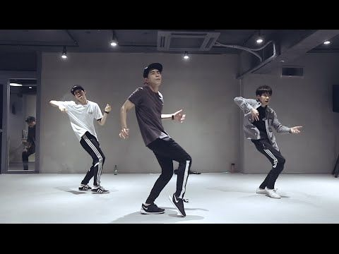 Koosung Jung teaches choreography to Hit The Quan by ...