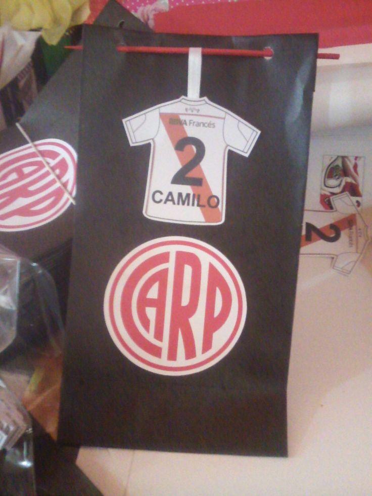 Bolsitas para golosinas River Plate