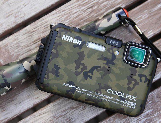 Camouflage Nikon Coolpix AW100