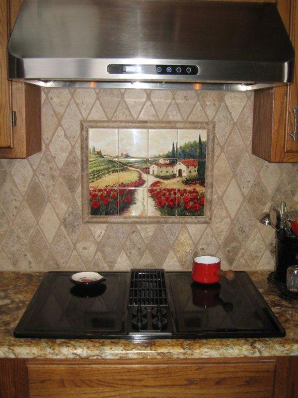 57 Best Roosters Hens Amp Farm Yard Tile Murals Images On