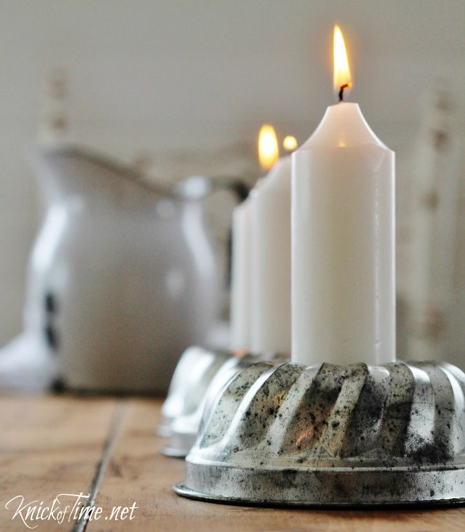 So Simple Candle Holders at KnickofTime.net