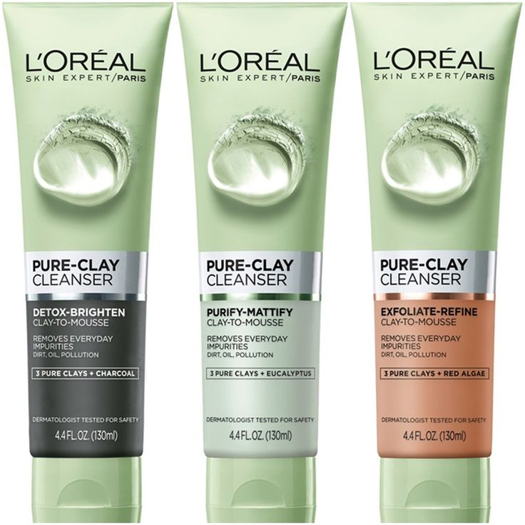 L'Oreal Pure Clay Masks Are Now Available in a Pure Clay Cleanser Formula