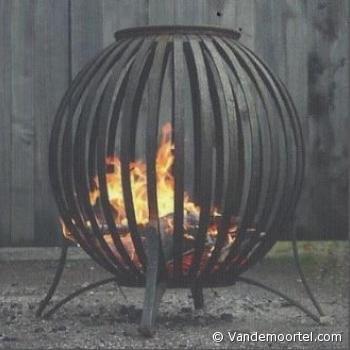 Vandemoortel Rustieke Bouwmaterialen - Stijlvloeren - Webwinkel Vuurkorven vuurkorf klein