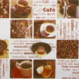 Mantel Hule Rollo 140cmx20m Café