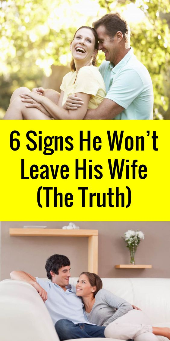 Are you involved in an affair with a married man? Does he