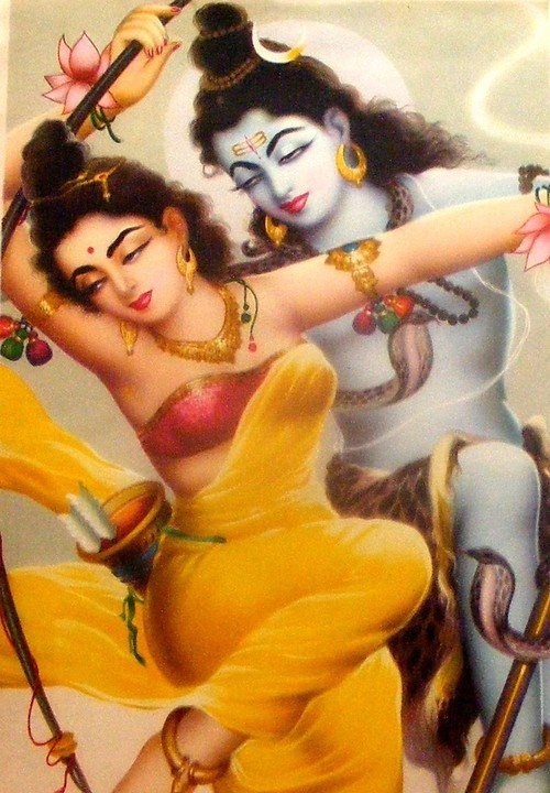 Parvati & Shiva Dreaming