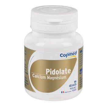 Pidolate calcium - magnésium Complément alimentaire à base de calcium et de magnésium.  Optimise les apports en calcium et en magnésium.