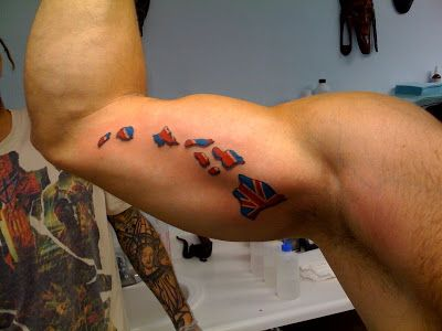 island girl tattoo designs | finally did it, I got a new tattoo - 3 hours before boarding the ...