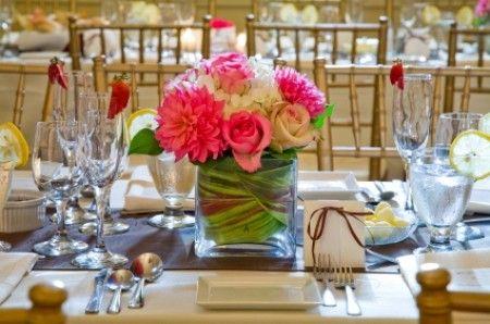 Centros de mesa para tu matrimonio