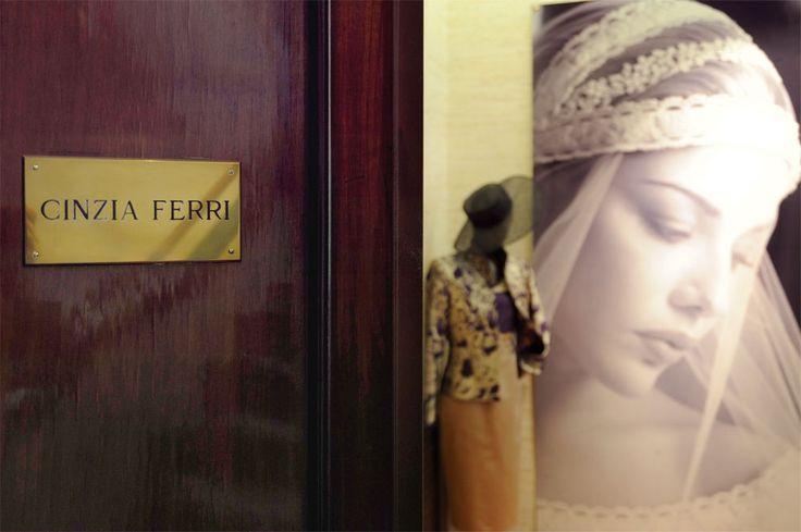 Abiti da sposa firmati Cinzia Ferri, qualità assicurata! www.cinziaferri.com