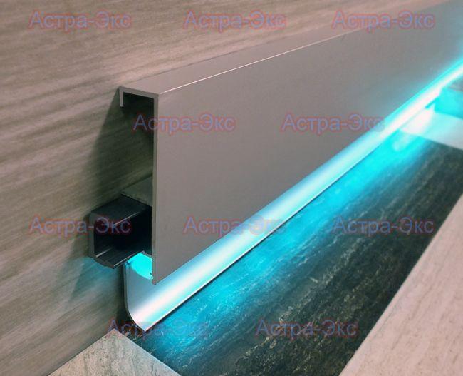 Светодиодный профиль накладной. Купить алюминиевый профиль для светодиодной ленты по низким ценам в Москве - Астра-Экс