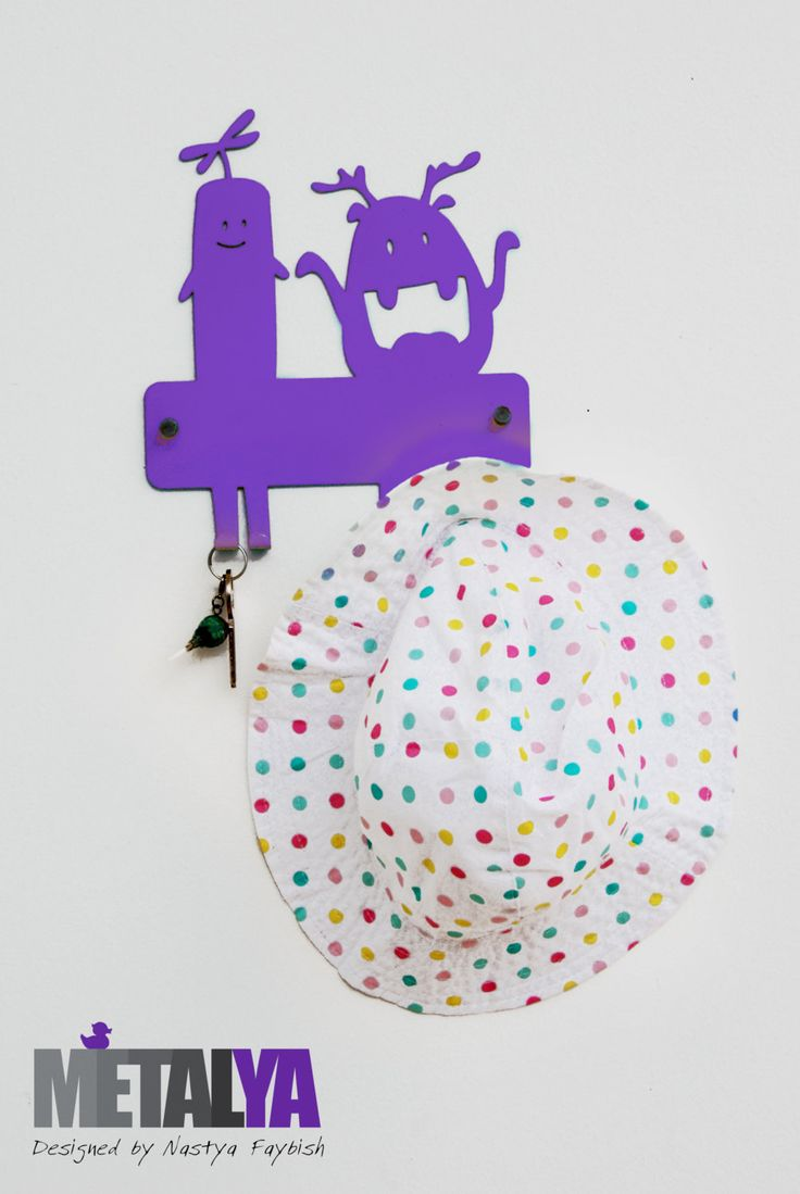106 best metalya design your space with metal images on coat hanger for kids purple monsters decor baby room small coat hanger free amipublicfo Choice Image