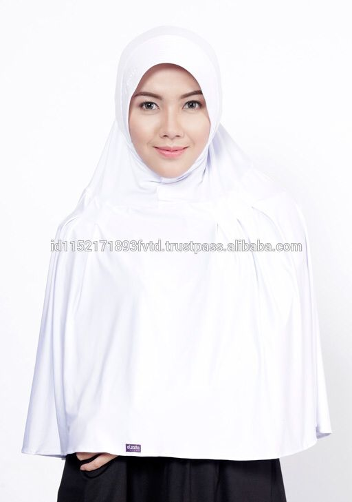 New Model Instant Hijab Saida Dazatta White Hijab For The World