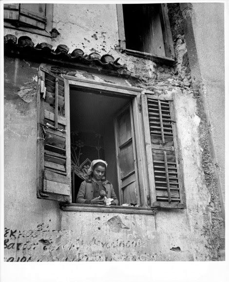 Billy Files: A girl and her doll Athens 1944