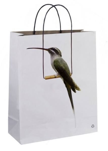 ¡Mirad que bolsa tan curiosa hemos encontrado! :)