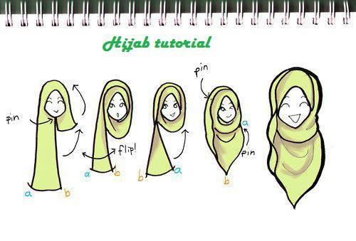 Cute hijab tutorial
