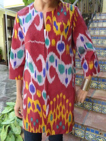 CJ Laing Ikat Coats