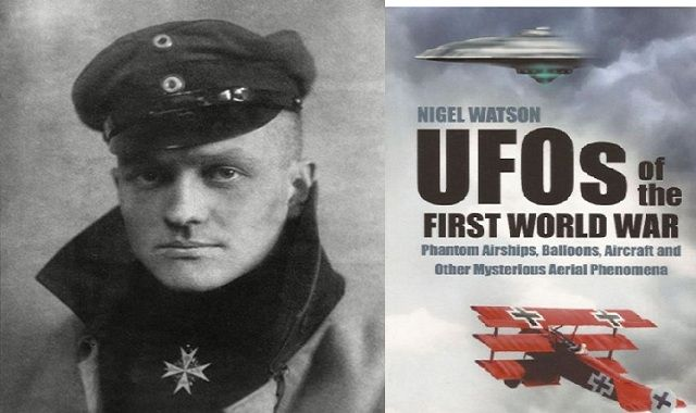 THE FIRST X-FILES: When UFOs have appeared over the battlefields of the First World War