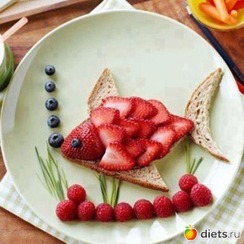 Полезная, красивая и вкусная еда!