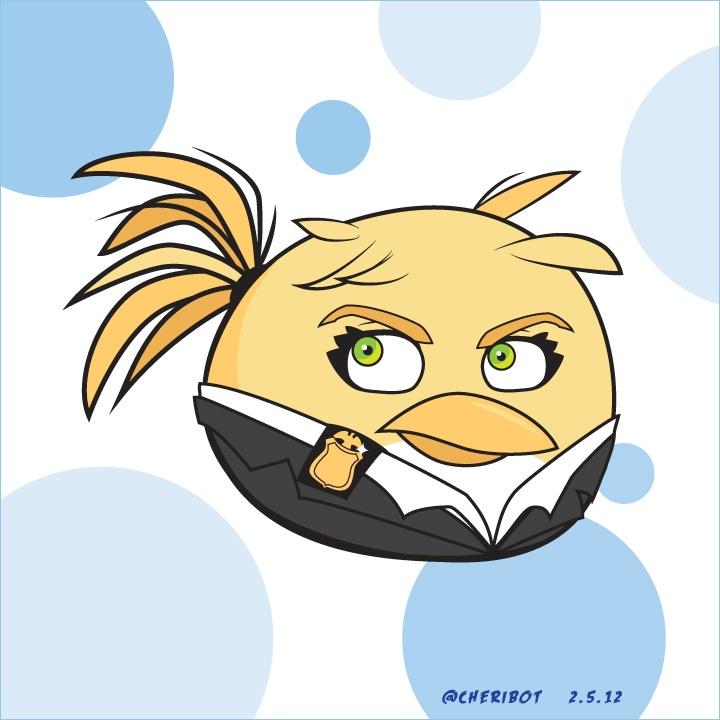 oilvia angrey bird