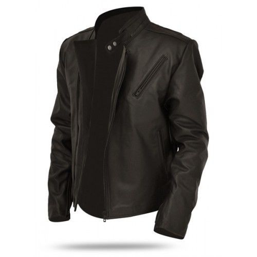 Leather Jackets MENS EHS New genuine Soft Ship Skin  Leather New Collection N100 #NationalLeatherGodds #BasicBikerMotorCycleJacket