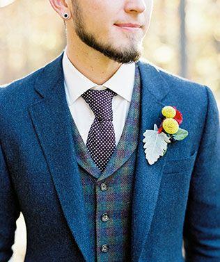 Осенний образ жениха: стиль в деталях