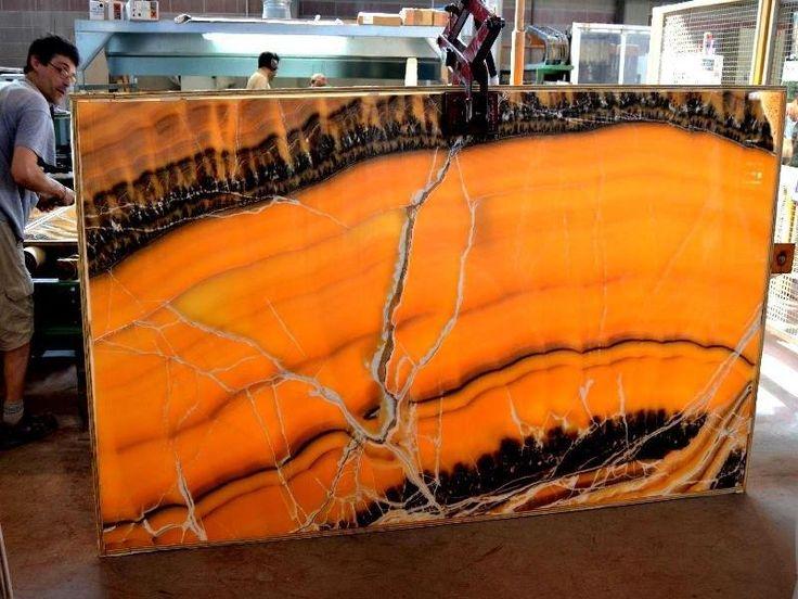 Orange black veined