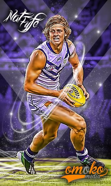 NAT FYFE - FREMANTLE FOOTBALL CLUB