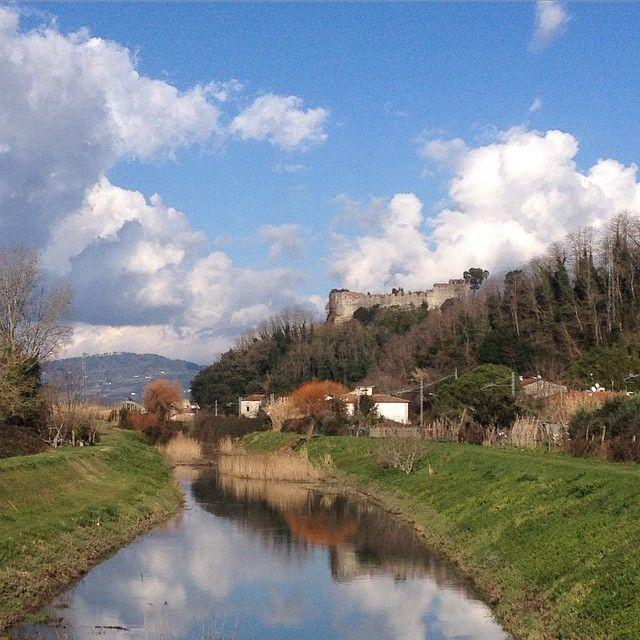 Ripafratta ed il Canale Ozzeri #MontePisano