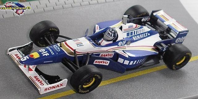 FIA Formula One World Championship 1996 Williams FW18 Damon Hill 1/43