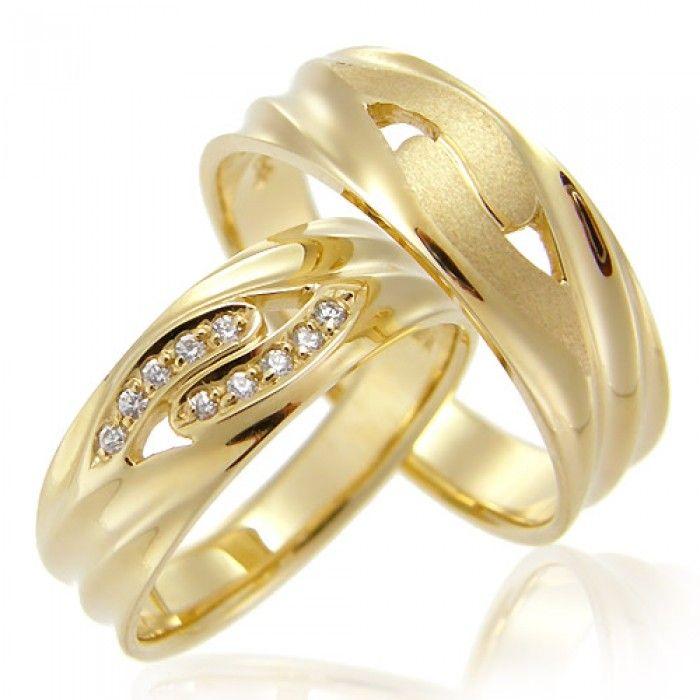 Gold Wedding Rings TCR47680