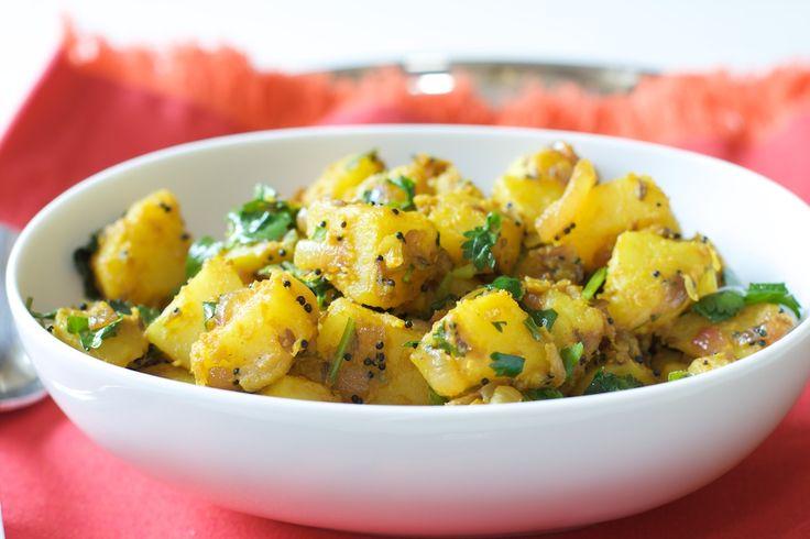 Mustard and Cumin Flavored Potato