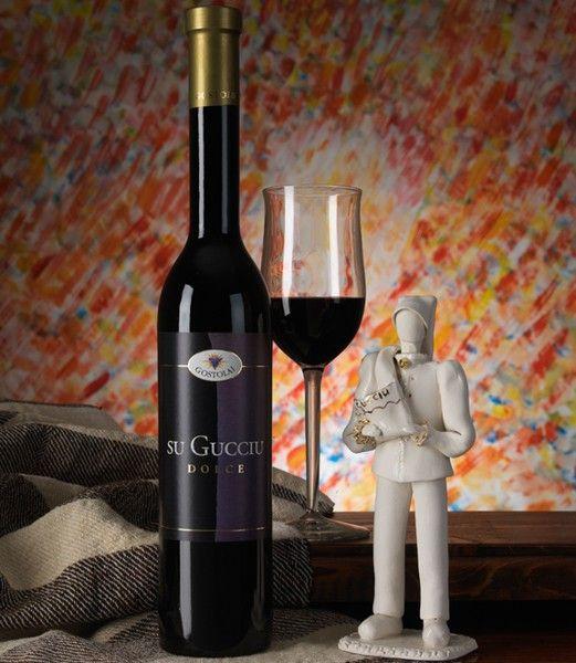 Vino dolce rosso Su Gucciu, IGT - SardinianStore.com