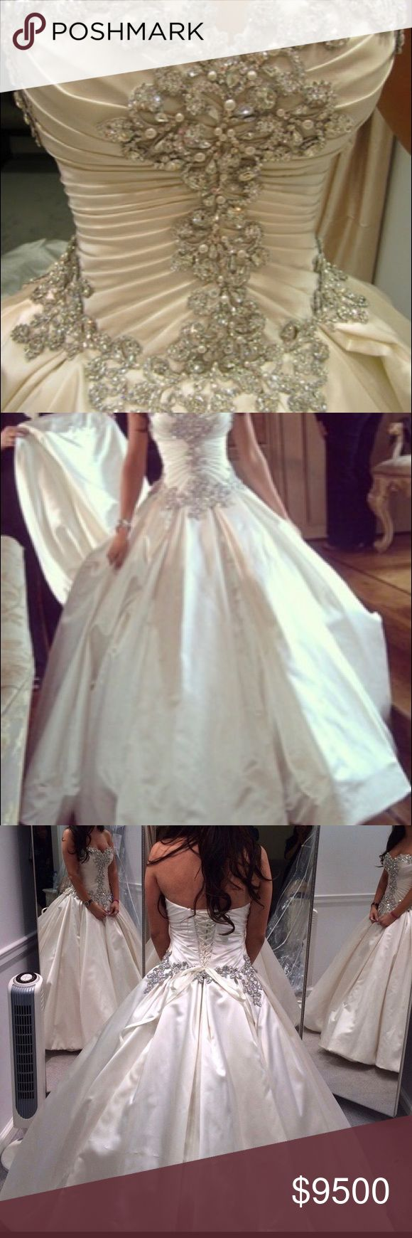 Pnina Tornai Couture Wedding Gown Style 4019