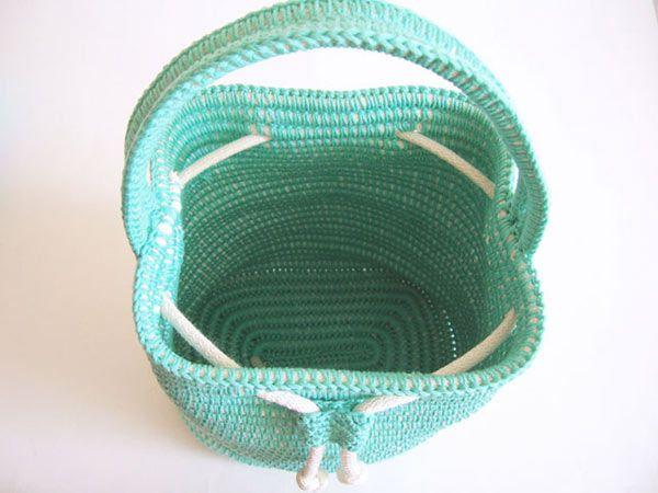 Drawstring Bag crochet by Chabepatterns