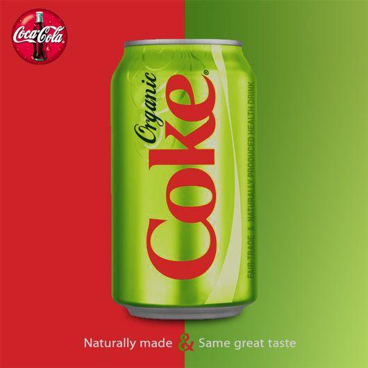 Organic Coke debut...