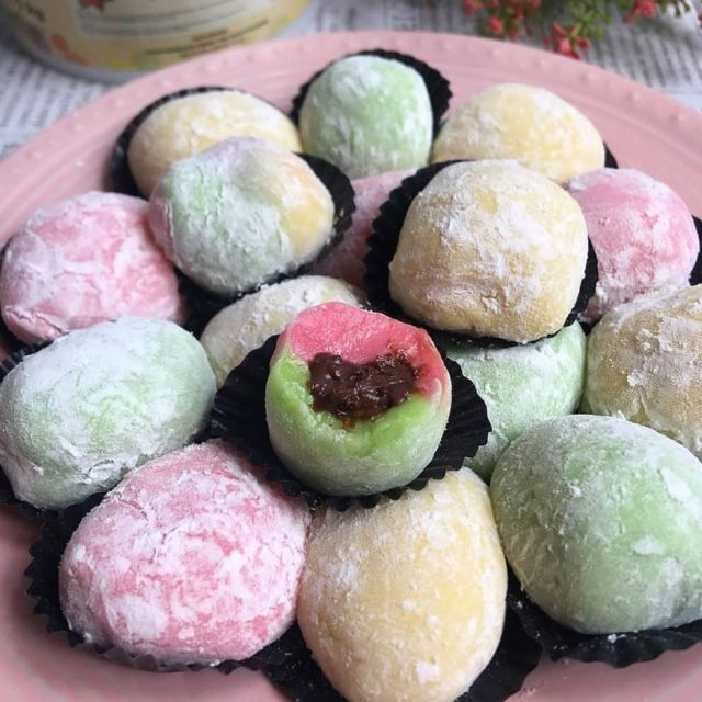 Resep Kue Mochi Jepang Yang Enak Dan Kenyal Lengkap Panduan Cara Membuatnya Iniresep Com Resep Kue Makanan Enak Resep