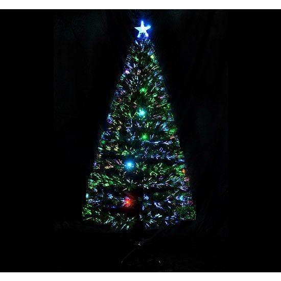 Fiber Optic #Christmas Tree 6-FT Artificial Holiday Decoration Star Topper LED   @DanAnnStore